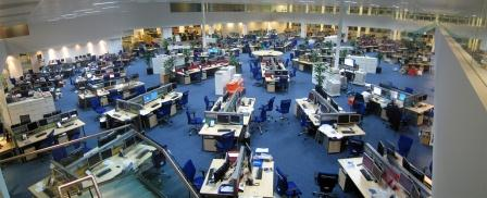 Productivity in the workplace open plan or closed offices for Best office layout for productivity